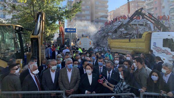İYİ Parti Genel Başkanı Meral Akşener, İzmir'de - Sputnik Türkiye