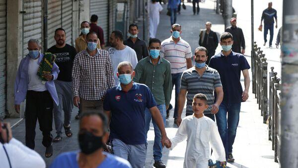 Ürdün - maske - koronavirüs - Sputnik Türkiye
