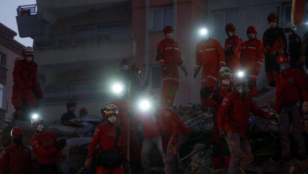 İzmir - deprem - kurtarma - Sputnik Türkiye
