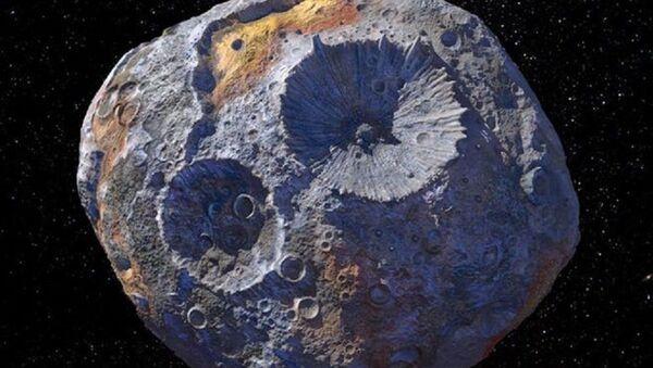 Asteroid 16 Psyche - Sputnik Türkiye