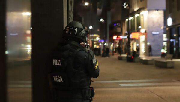 Viyana, silahlı saldırı, polis - Sputnik Türkiye