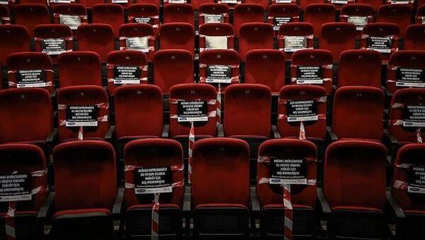 Tiyatro-sinema-koronavirüs tedbirleri - Sputnik Türkiye