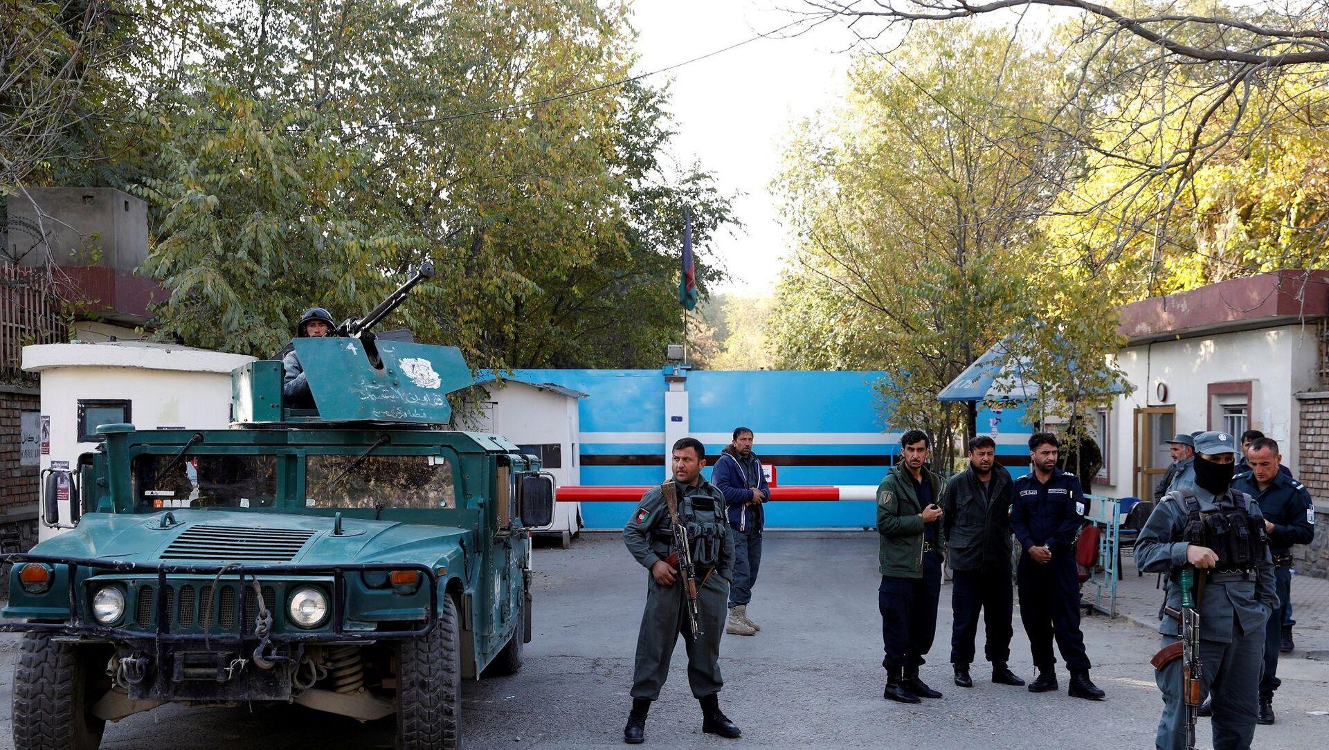 Afganistan - Kabil Üniversitesi - Afgan polis - Sputnik Türkiye, 1920, 14.05.2021