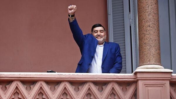 Diego Maradona  - Sputnik Türkiye