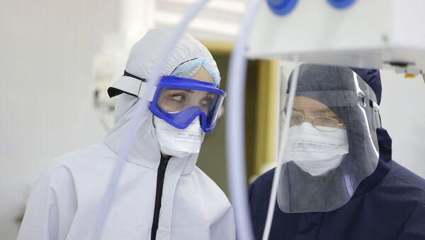 hastane, koronavirüs, Rusya - Sputnik Türkiye