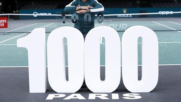 İspanyol tenisçi Nadal '1000'ler kulübü'ne girdi - Sputnik Türkiye