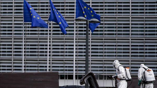 Avrupa Birliği (AB) bayrak - Sputnik Türkiye