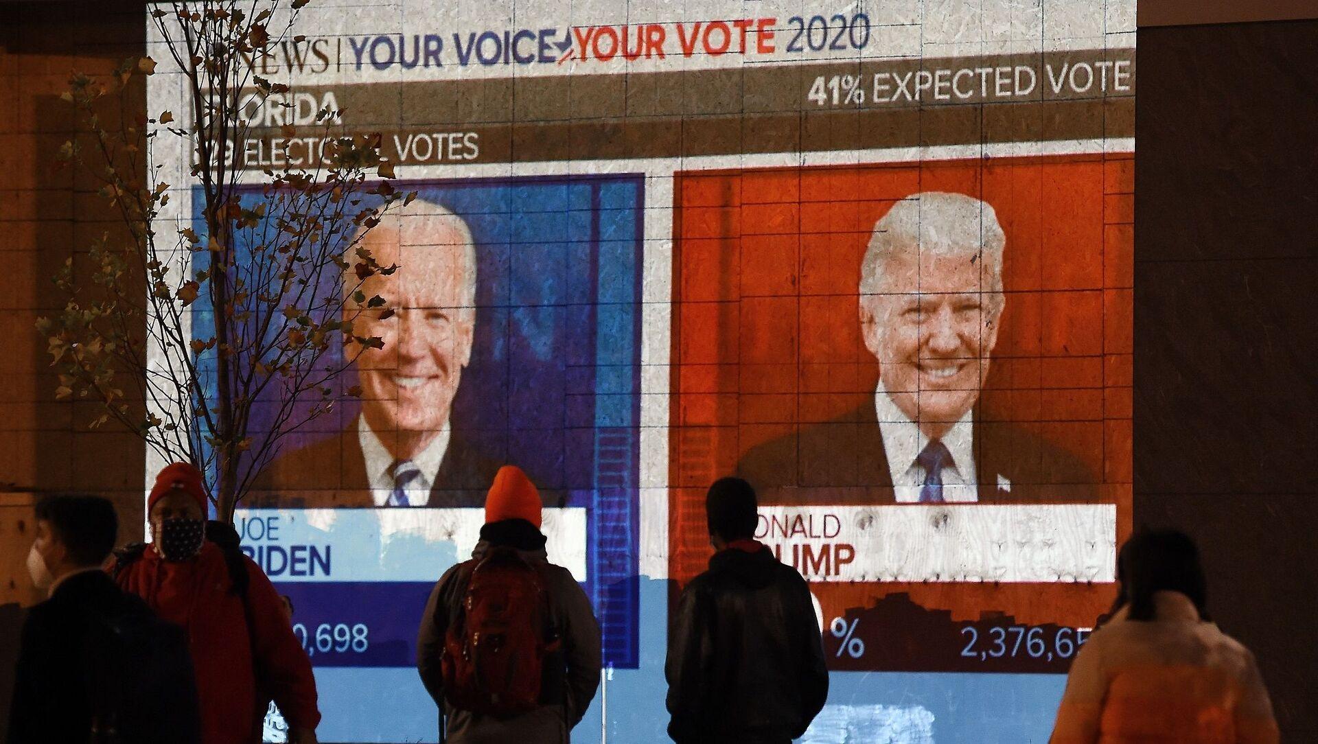 ABD - seçimler - başkanlık seçimleri - Trump - Biden - Sputnik Türkiye, 1920, 17.05.2021