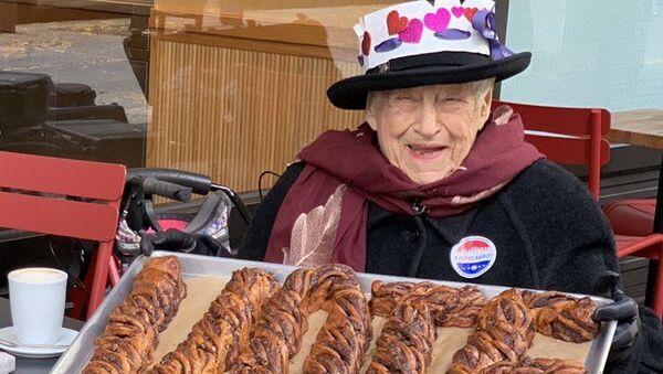 104 yaşındaki Ruth Rosner - Sputnik Türkiye