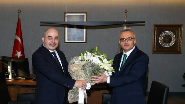 Murat Uysal - Naci Ağbal - Sputnik Türkiye