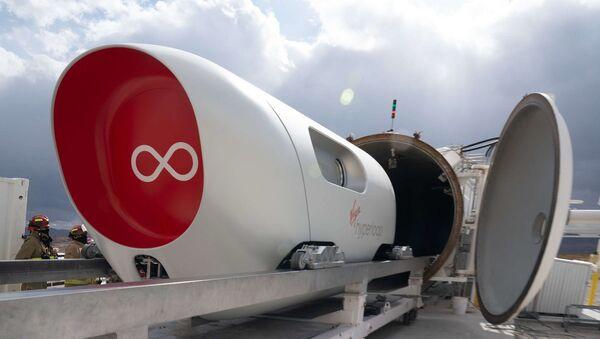 Virgin Hyperloop teknolojisi - Sputnik Türkiye