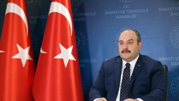 Sanayi ve Teknoloji Bakanı Mustafa Varank - Sputnik Türkiye