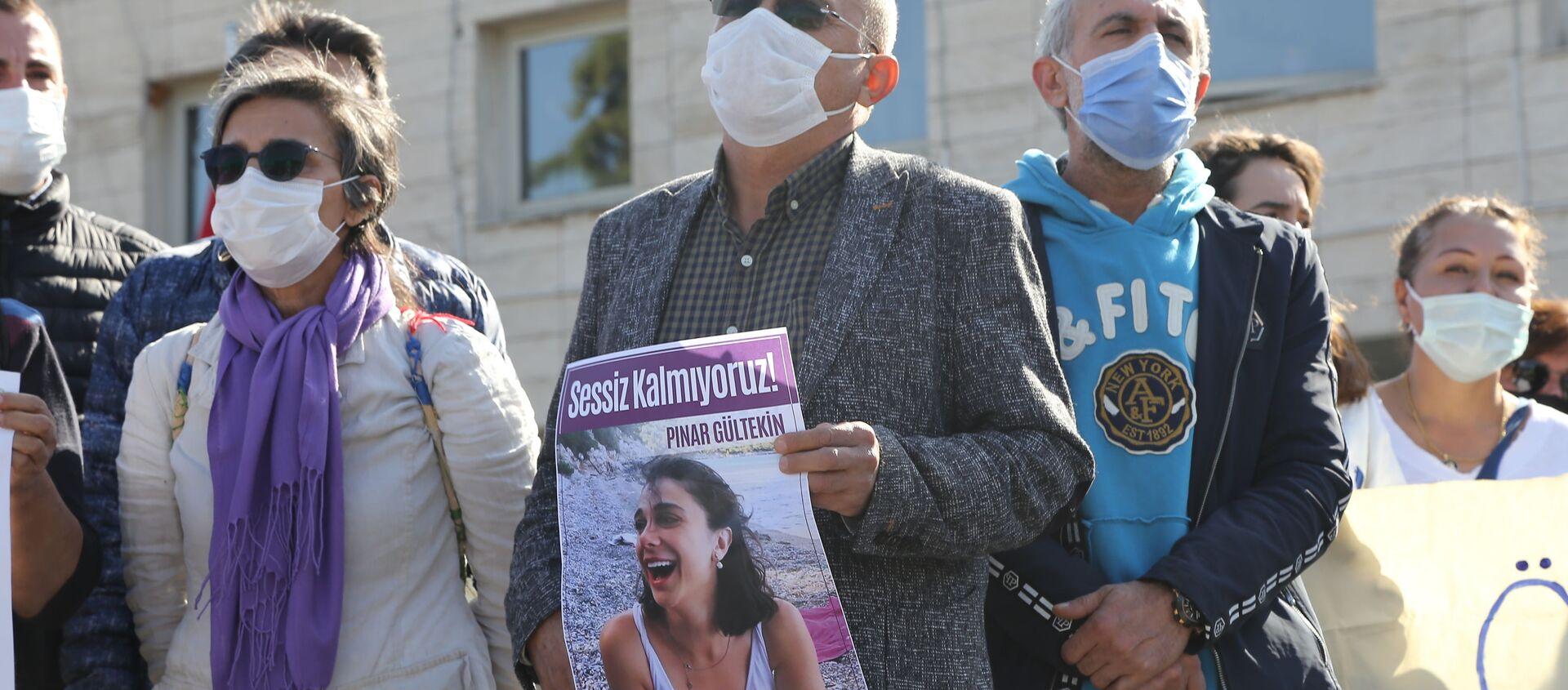 Pınar Gültekin cinayeti duruşması - Sputnik Türkiye, 1920, 05.01.2021