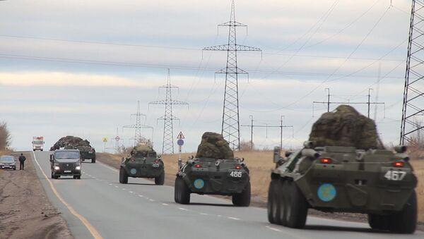 Rusya - Karabağ  - Barış Gücü - Sputnik Türkiye