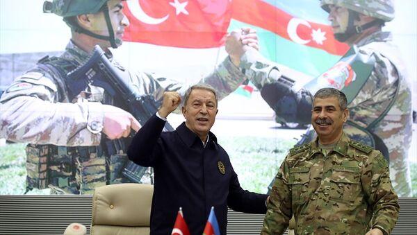 Akar ve Komutanlar Azerbaycan'da - Sputnik Türkiye