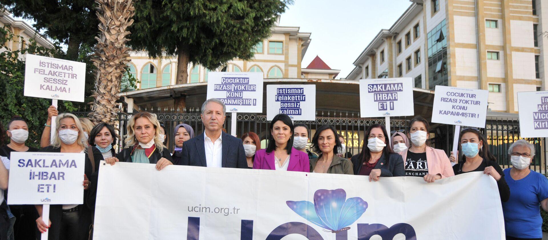 Antalya'da 26 öğrencisine cinsel istismarda bulunan öğretmen Mahmut Aydın Köksar 621 yıl hapis cezası aldı - Sputnik Türkiye, 1920, 11.11.2020