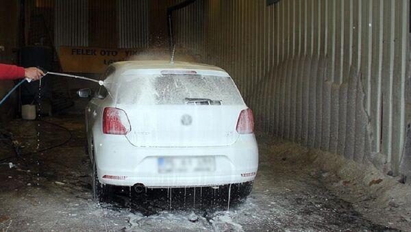 Oto yıkama, araba yıkama - Sputnik Türkiye