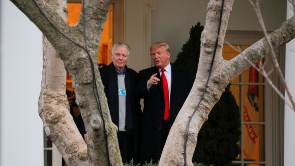Donald Trump - Jon Voight - Sputnik Türkiye