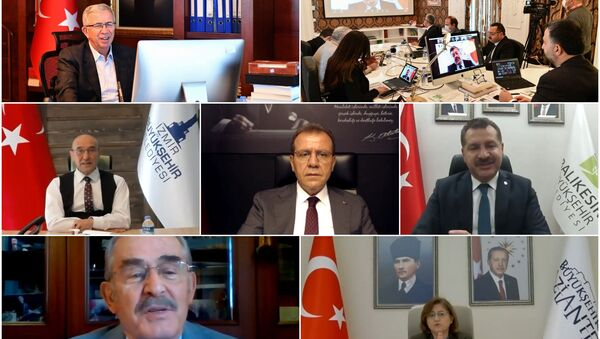 Ankara Kent Konseyi, Büyükşehir Kent Konseyleri Toplantısı'na ev sahipliği yaptı.  - Sputnik Türkiye