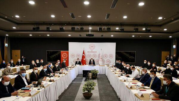 İstanbul'da son durum toplantısı - Sputnik Türkiye