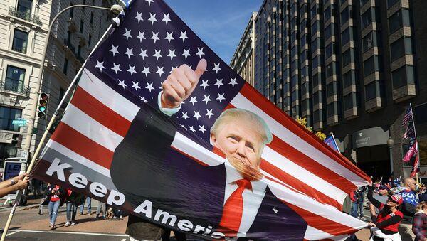 ABD - Donald Trump  - Trump destekçileri - Sputnik Türkiye