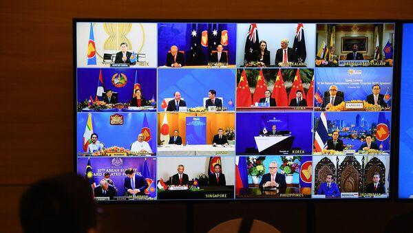Bölgesel Kapsamlı Ekonomik Ortaklık anlaşması - Sputnik Türkiye