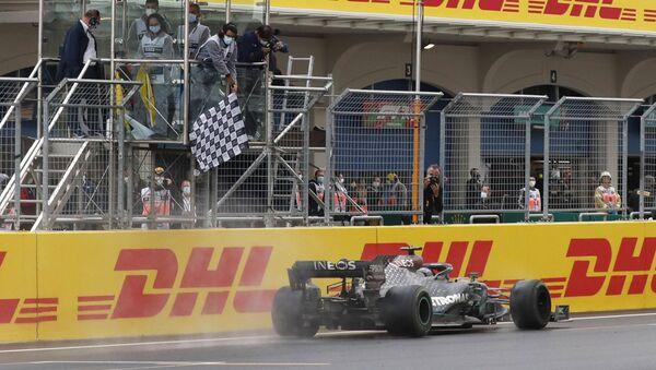 Lewis Hamilton- İstanbul Grand Prix'si - Sputnik Türkiye