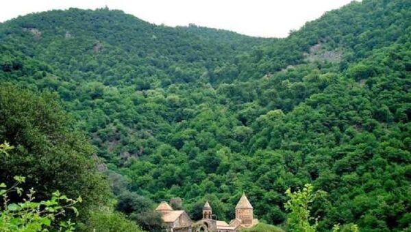 Dağlık Karabağ, Kelbecer, Dadivank Manastırı - Sputnik Türkiye
