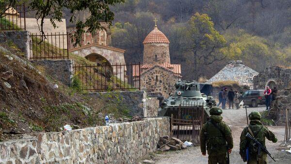 Rus barış güçleri - Karabağ - Sputnik Türkiye