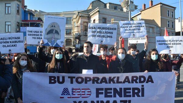 İstanbul'da Pompeo protestosu - Sputnik Türkiye