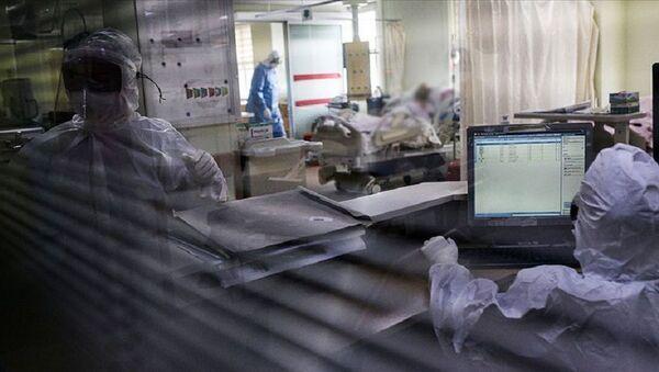 Hastane, koronavirüs, yoğun bakım - Sputnik Türkiye