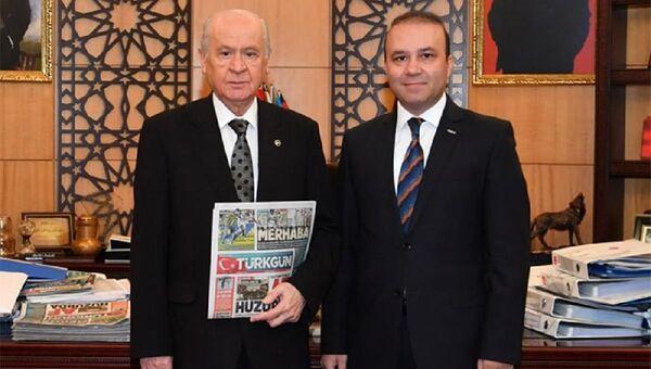 Devlet Bahçeli'nin Basın Danışmanı Yıldıray Çiçek - Sputnik Türkiye