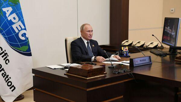 Rusya Devlet Başkanı Vladimir Putin-APEC zirvesi - Sputnik Türkiye