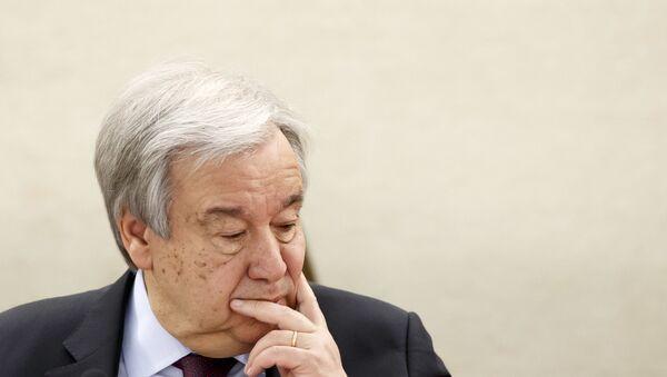 Birleşmiş Milletler (BM) Genel Sekreteri Antonio Guterres - Sputnik Türkiye