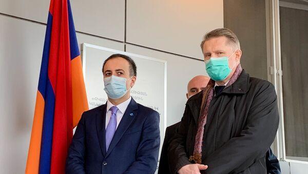 Arsen Torosyan, Mihail Muraşko - Sputnik Türkiye
