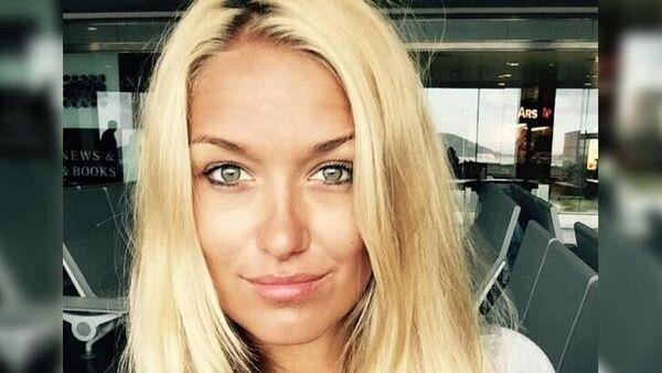 Interpol tarafından uyuşturucu çetesine liderlik yaptığı gerekçesiyle kırmızı bültenle aranan PolonyalıMagdalenaKralka - Sputnik Türkiye