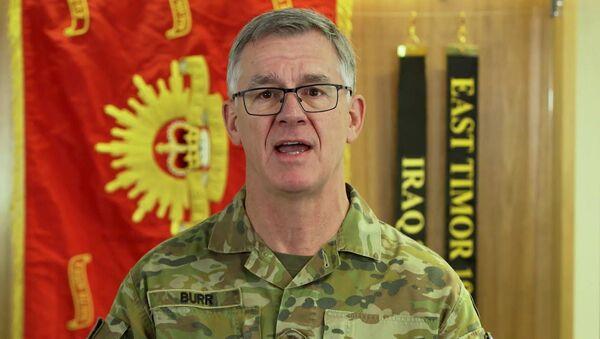 Avustralya Kara Kuvvetleri Komutanı Korgeneral Rick Burr - Sputnik Türkiye