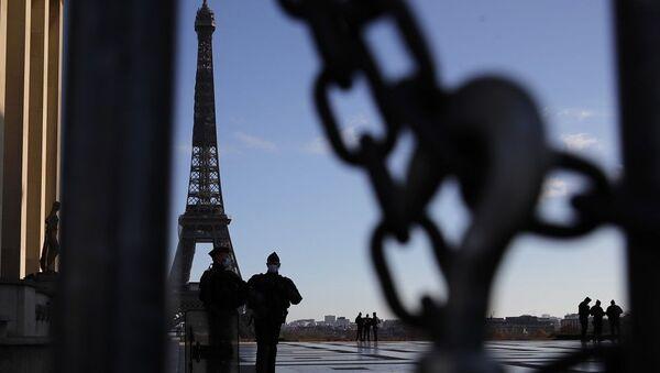 Fransa, Eyfel Kulesi, Fransa polisi - Sputnik Türkiye