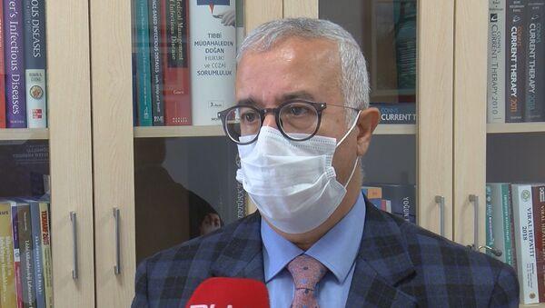 Cerrahpaşa Tıp Fakültesi Enfeksiyon Hastalıkları Anabilim Dalı Başkanı Prof. Dr. Fehmi Tabak - Sputnik Türkiye