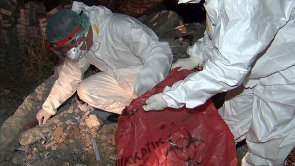 Ankara'da mahalle arasında atık tahlil tüpleri bulundu - Sputnik Türkiye