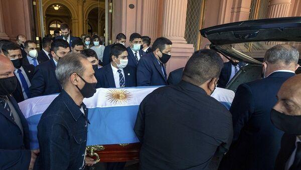 Maradona cenaze - Sputnik Türkiye