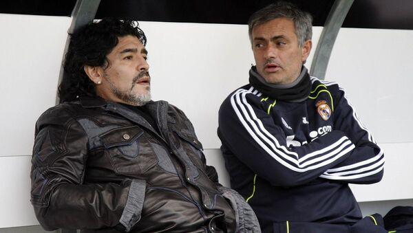Maradona - Mourinho - Sputnik Türkiye