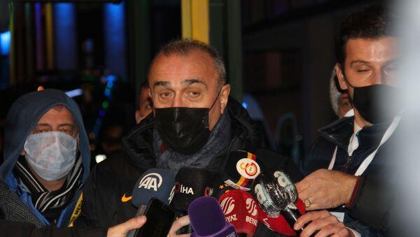 Galatasaray İkinci Başkanı Abdurrahim Albayrak - Sputnik Türkiye