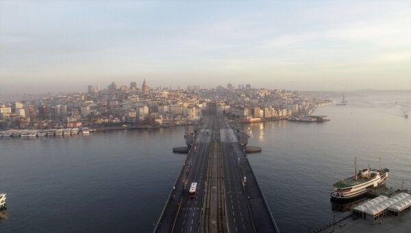 İstanbul- Sokağa çıkma kısıtlaması - Sputnik Türkiye