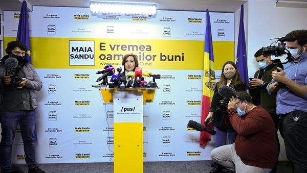 Maya Sandu - Sputnik Türkiye