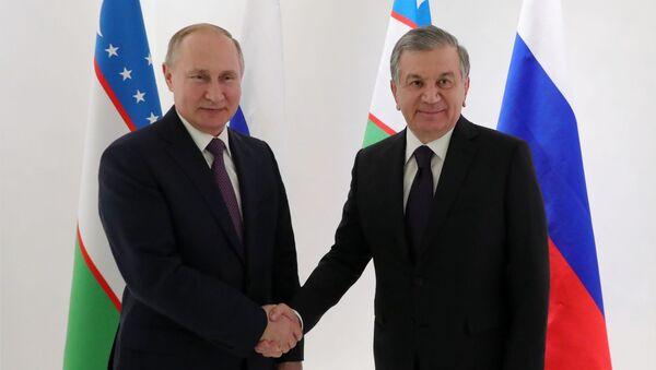 Putin, Mirziyoyev - Sputnik Türkiye