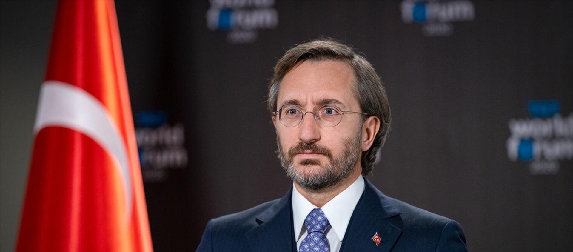 İletişim Başkanı Fahrettin Altun - Sputnik Türkiye, 1920, 15.02.2021