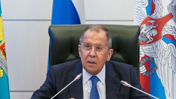 Sergey Lavrov, KGAÖ - Sputnik Türkiye