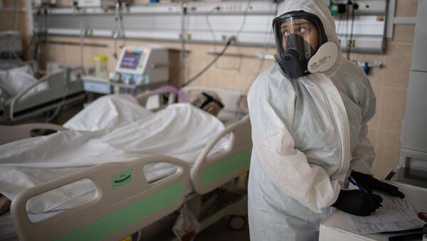 koronavirüs, hastane, Moskova, Rusya - Sputnik Türkiye