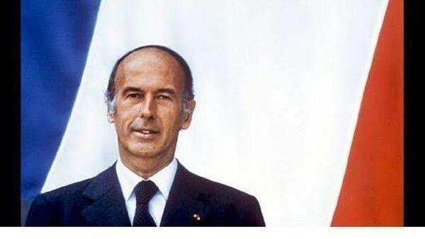 Fransa'nın 1974 ile 1981 yılları arası Cumhurbaşkanlığını yapmış olan Valery Giscard d'Estaing - Sputnik Türkiye